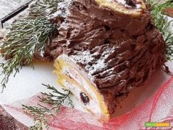Tronchetto di Natale (o Bùche de Noël)