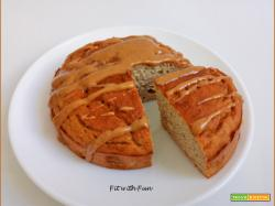 Mini Torta Low Carb Ricotta e Caramello