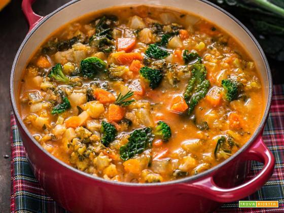 Minestrone di Verdure Autunnale | Hearty Fall Minestrone Soup