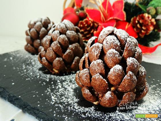 Pigne di cioccolato senza lattosio