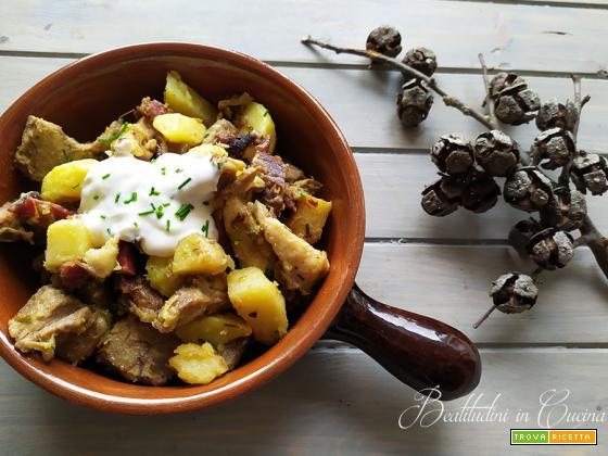 Grostl o rosticciata trentina di patate
