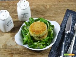 Mini hamburger con broccoletti e topinambur