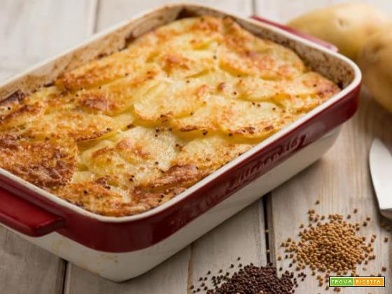 Millefoglie di patate alla senape: un piatto facile e buono