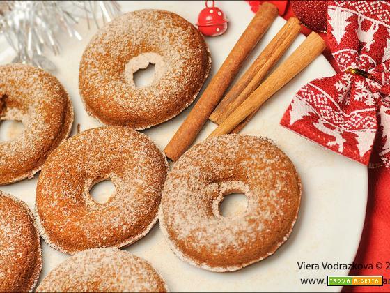 Ciambelline quasi Donuts alla zucca speziata