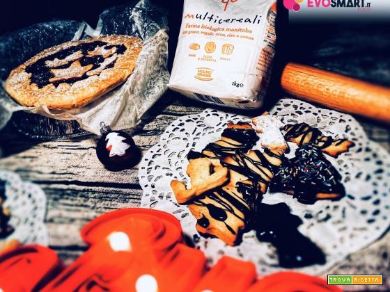 Colazione Natalizia con pasta frolla ai multicereali Molino Grassi
