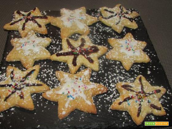 Ricetta – Biscotti di Natale alle mandorle