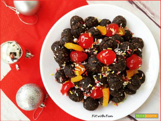 Struffoli al Cacao Fit e Light Cotti al Forno