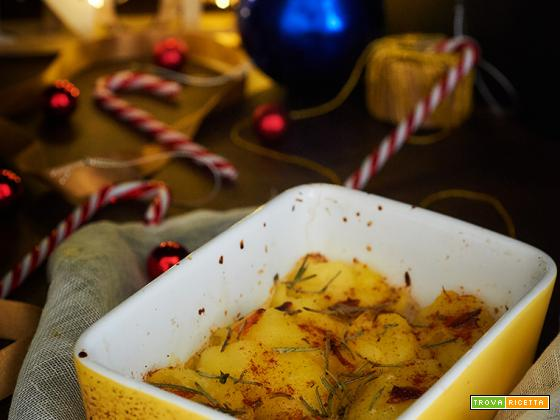 calendario dell'avvento patate arrostite al mandarino e paprika affumicata