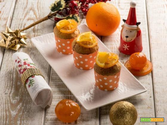 Buon Natale con i pandorini al teff, arancia e noce moscata