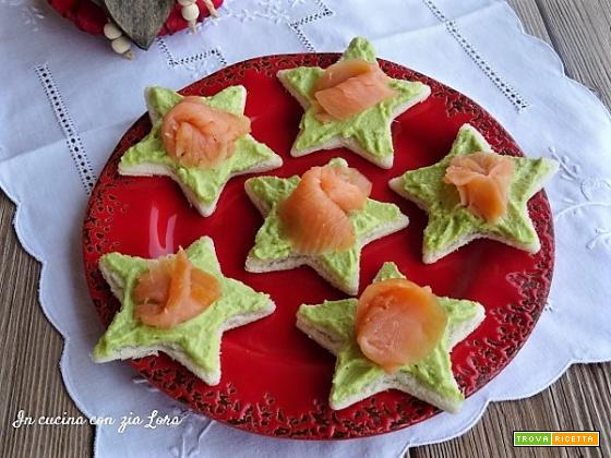 Antipasto al salmone e avocado