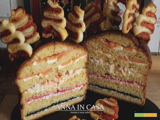 Panettone gastronomico - repost - ricetta passo passo