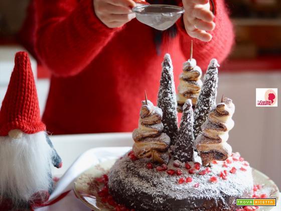 Torta Di Natale al Cioccolato