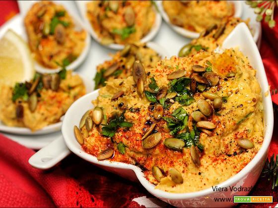 Hummus di Butternut cremoso e delicato senza glutine