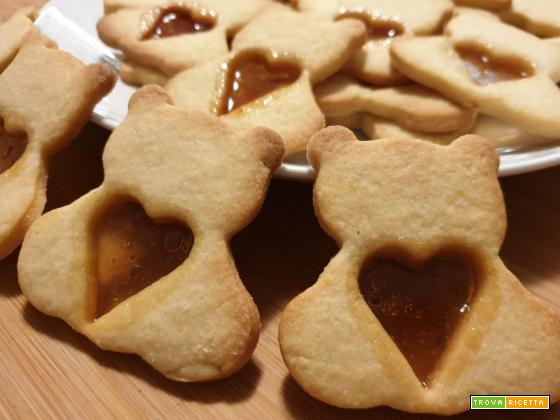 """Biscotti """"Orsetti del cuore"""""""