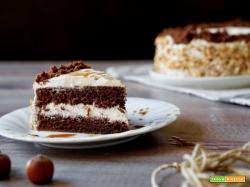 Torta Moka al Cioccolato e Caffè