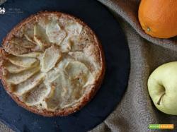 Torta di mele e arance senza uova