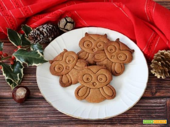 Gufetti con farina di castagne e cannella, un'idea per la Befana