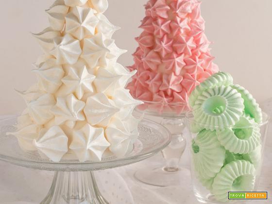 Albero di meringhe -Christmas meringue tree