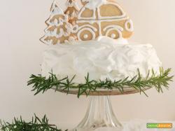 Christmas car topper cake