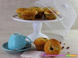Muffin mirtilli e uvette