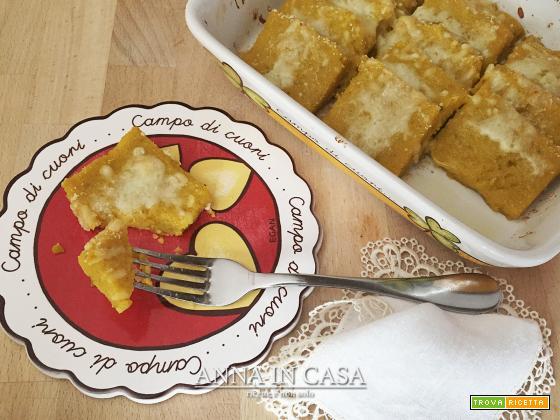 Gnocchi alla romana di zucca e semolino - ricetta passo passo
