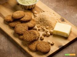 Biscotti con farina di sorgo e di piselli, naturalmente dolci e gustosi