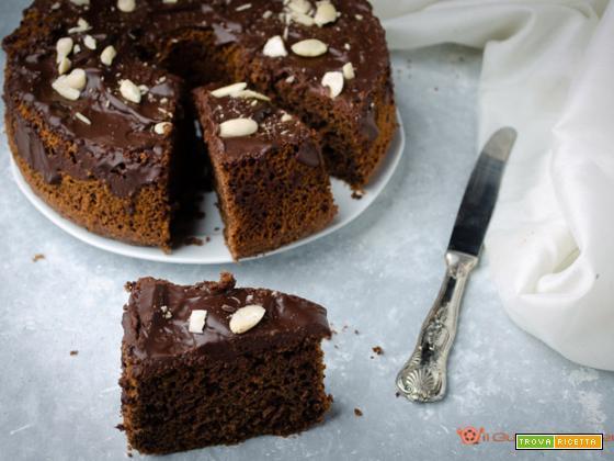 Chiffon cake al caffè e cacao