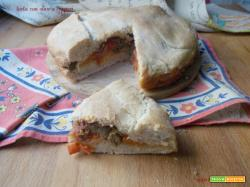 Torta con olive e capperi – lievito madre