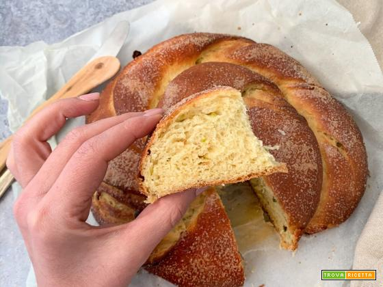 Impasto base: Pasta Brioche Leggera (senza burro, né olio)