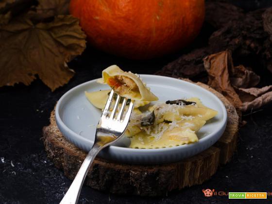 Tortelli di zucca con burro e salvia