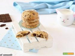 Biscotti cookies con scaglie di cioccolato