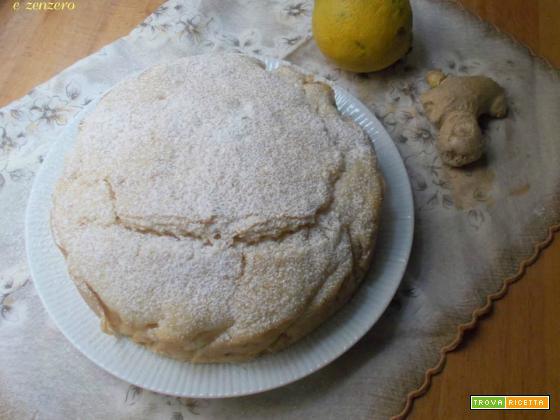 Torta al bergamotto e zenzero