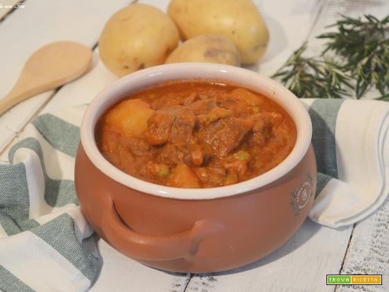 Ricetta spezzatino di carne con patate Slow Cooker