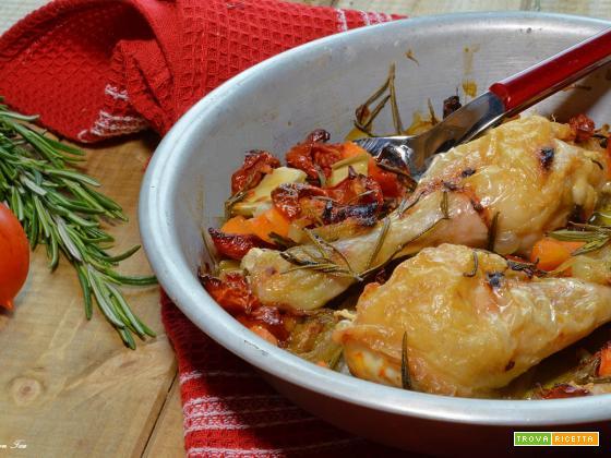 Pollo alla cacciatora con la slow cooker