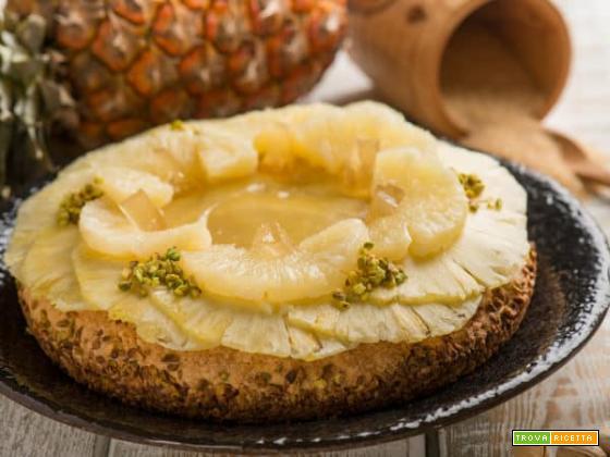 Crostata con ananas e pistacchio: dolci tentazioni!