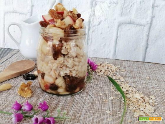 Porridge al sapore di strudel
