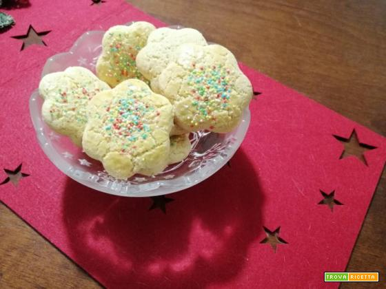 Biscotti zuccherini romagnoli