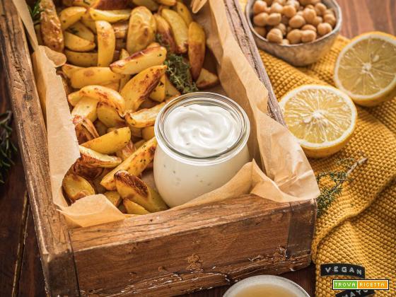 Maionese Vegana Senza Uova con Aquafaba | Soy-Free Vegan Mayonnaise with Aquafaba