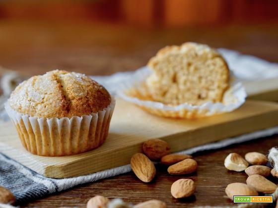 Muffin all'Arancia, Mandorle e Cannella