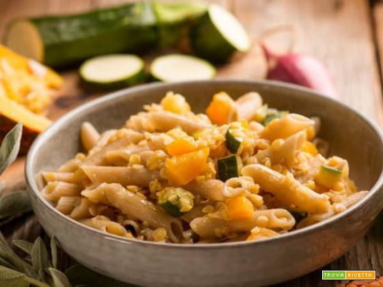 Penne con ragù di lenticchie: una specialità ai legumi