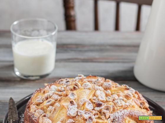Torta di mele e nocciole soffice – SENZA BURRO