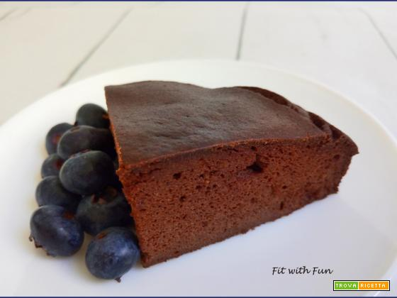 Torta Proteica e Senza Glutine Cacao e Caramello