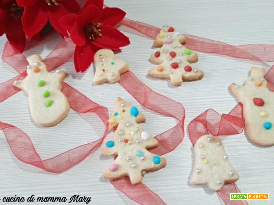 Biscotti fantasia di Natale