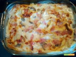 Lasagna ai funghi champignon - Veloce da preparare e gustosissima