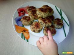 Mini burgher di melanzane - Ricetta per Bambini
