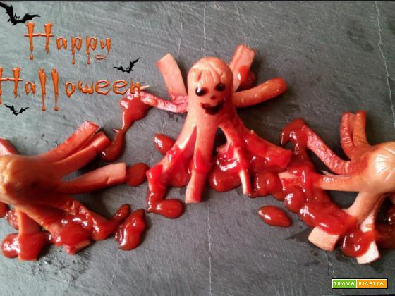 Piovre di Halloween - Ricetta per bambini