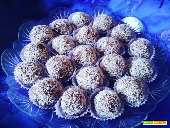 Praline cocco e mascarpone -Ricetta veloce