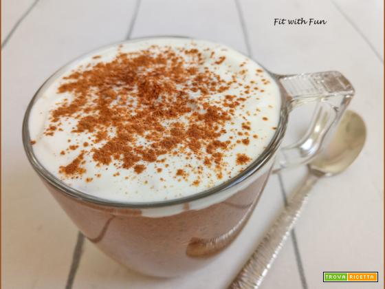 Cappuccino di Chia Pudding Proteico e Low Carb