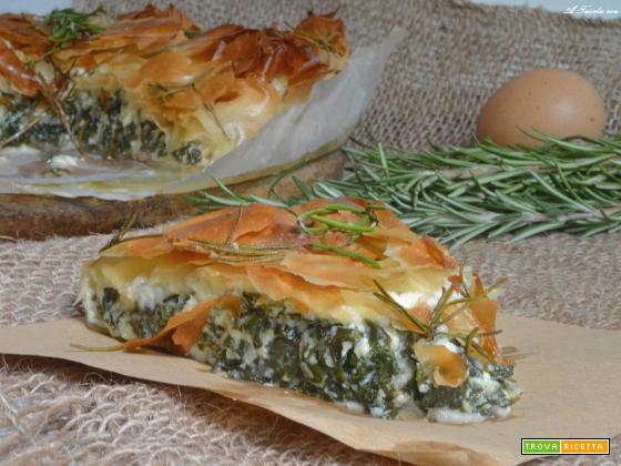 Torta di pasta fillo spinaci e feta pronta in 30 minuti – Jamie Oliver