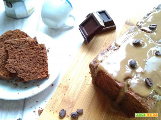 plumcake caffè e cioccolato
